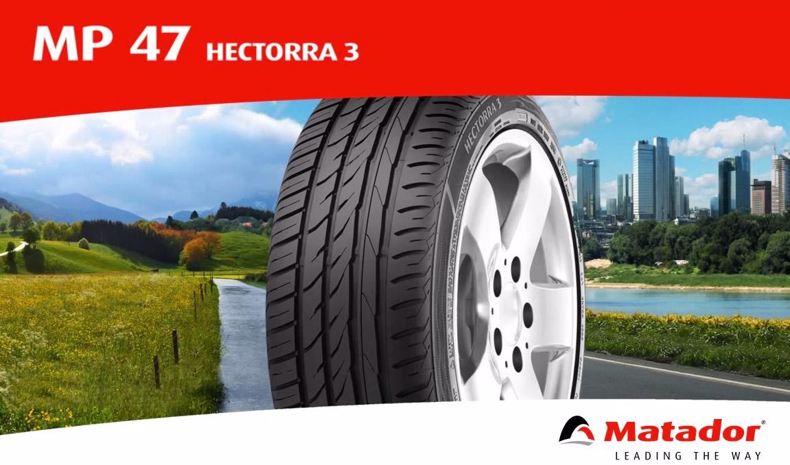 Новое поколение шин Matador: встречаем лето с MP47 Hectorra 3
